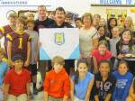 Mabry Middle School shows their love for their school resource officer during Public Safety Appreciation Week!