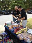Liberty Mutual and Zaxbys teamed up to serve Cobb County Police Precinct 5 during Public Safety Appreciation Week.