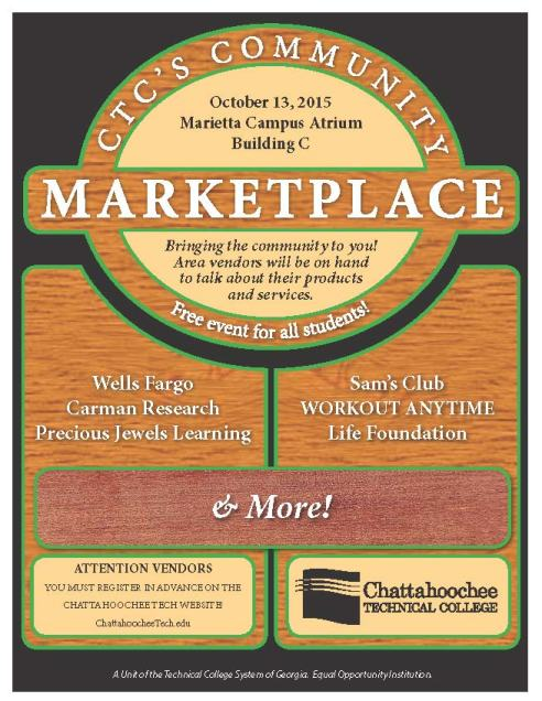 Community Marketplace poster