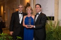 Mike Fallaize, Fallaize Insurance Agency, Past President 24 Karat Club Southeastern United States & Rhonda and Mark Jacobson Photo Credit: Tim Wilkerson Photography