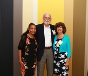 Osher Lifelong Learning Scholarship recipients pose for a picture at the annual Scholarship Night Reception