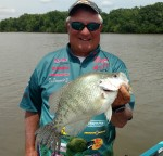 "Bill Dannenmueller, publisher of popular online magazine, ""Crappie Now."""