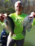 Dan Saknini, president and co-founder of Lanier Crappie Anglers Club.