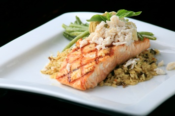 Woodfire Grilled Salmon